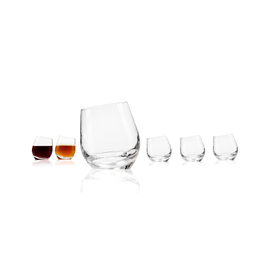SHADOW Red Wine Glasses Set of 6