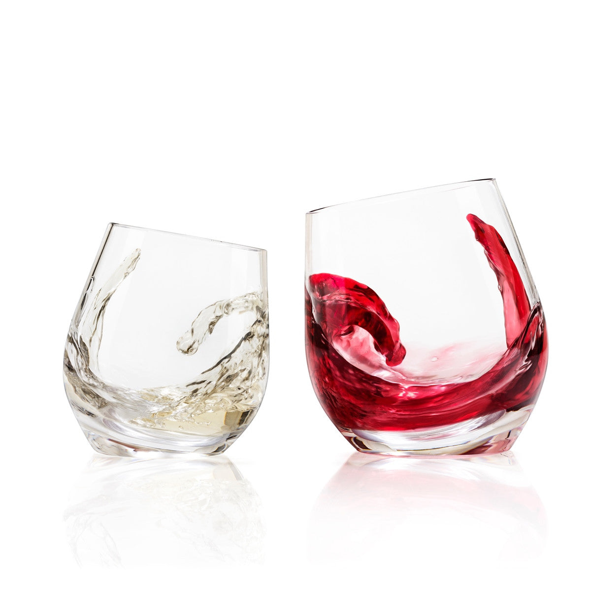 SHADOW white wine drinking glass (Set of 2)
