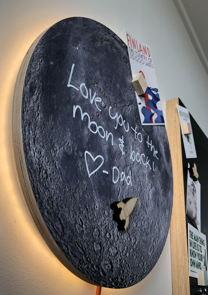 Moonlight Noticeboard, 700mm diameter