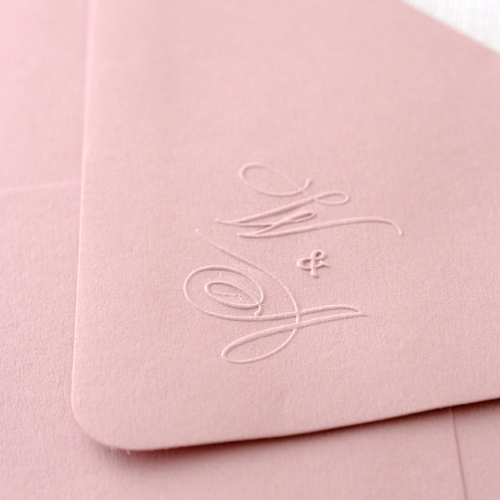 HAVE YOU MET ELIZABETH? - CALLIGRAPHY MONOGRAM EMBOSSER