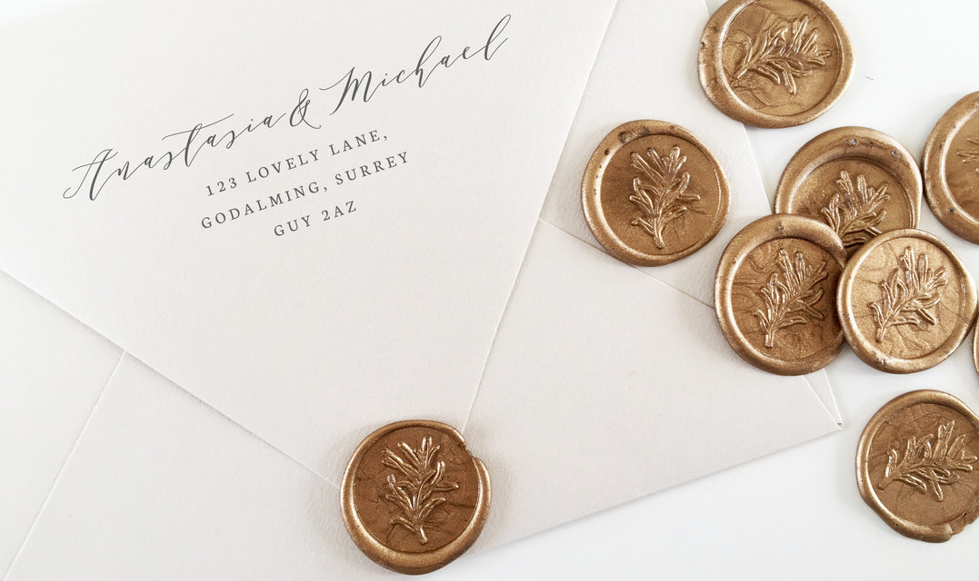 Heirloom Seals: Personalized Wax Seals, Stamps, and Embossers