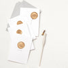 Greeting Card with Hand Stamped Wax Seal | Heirloom Seals