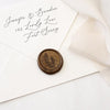 Juniper Berry Wax Seal Stamp | Botanical Gold Wax Seals | Heirloom Seals