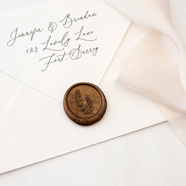 Bronze Juniper Berries Botanical Wax Seal | Heirloom Seals