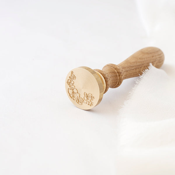 CHERRY BLOSSOM WAX SEAL STAMP - CHERRYBARK