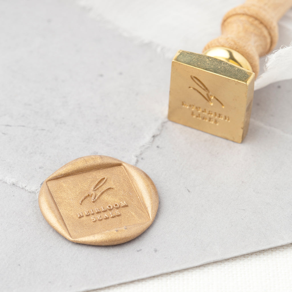 CUSTOM SQUARE Wax Seal Stamp