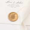 Gold Fern Wax Seals | Heirloom Seals