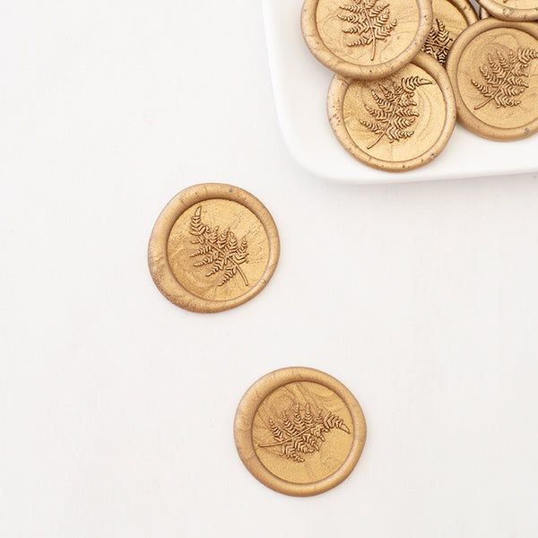 FERN - Self-Adhesive Wax Seals