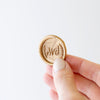 Gold Laurel Wax Seal Close Up | Heirloom Seals