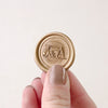 Custom Gold Monogram Wax Seal | Heirloom Seals