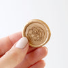 Pretty Champagne Peony Wax Seal | Heirloom Seals