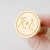 Monogram Wax Seal Stamp - Style 15