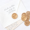 SCRIPT THANK YOU - Wax Seal Stamp