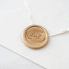 Wreath Monogram Wax Seal Stamp | Heirloom Seals