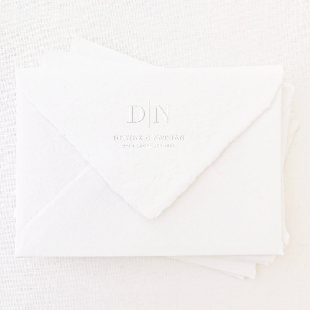 ELEGANT CLASSIC SAVE THE DATE EMBOSSER - GRACE