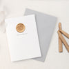 Happy Mother's Day Mama Mom Greeting Card with Hand Stamped Wax Seal | Heirloom Seals