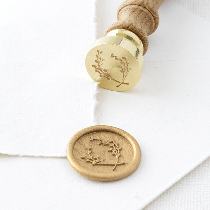 Gold Wreath Wax Seal | Heirloom Seals