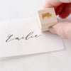 Meal Choice Mini Rubber Stamps for Menu Place Cards | Heirloom Seals