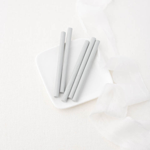 Light Grey 7mm Glue Gun Sealing Wax Sticks | Heirloom Seals