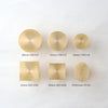 Wax Seal Brass Sizes | Heirloom Seals