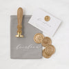 Monogram Wax Seal Stamp - Style 6