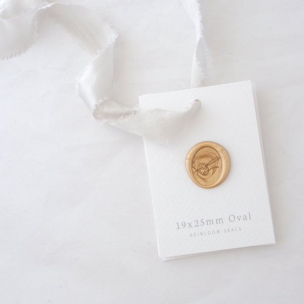 Oval Wax Seal Sample | Wax Seal Sample Pack | Heirloom Seals