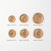 Rose Bud - Self-Adhesive Wax Seals