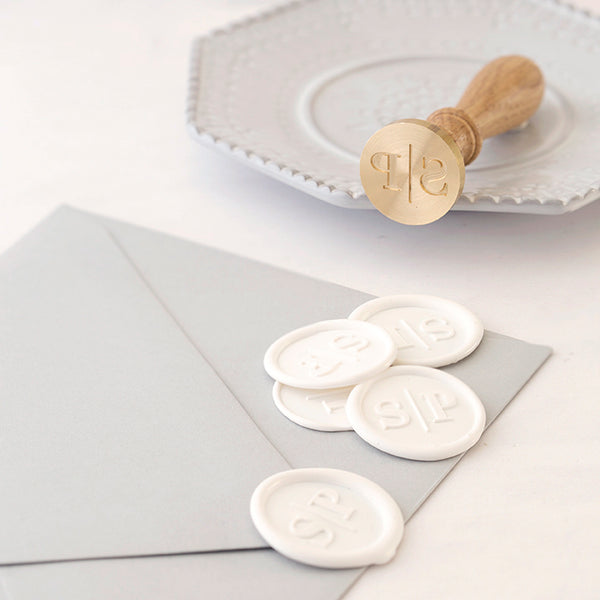 Monogram Wax Seal Stamp - Style 3