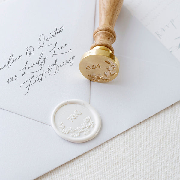 MONOGRAM WAX SEAL STAMP - BEATRICE