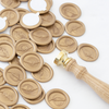 Gold Wax Seals | Feather Wax Seal Stamp | Heirloom Seals