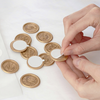 Peel and Seal Self-Adhesive Gold Wax Seal Stickers | Heirloom Seals