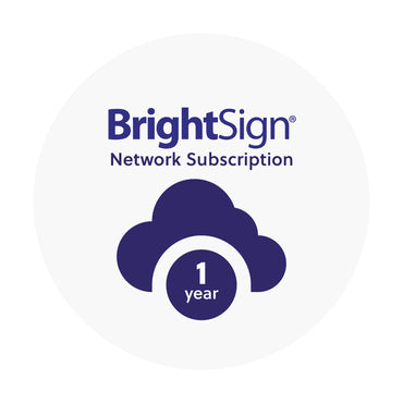 BrightSign Network - Pass license (1 year)