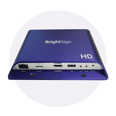 BrightSign HD1024 Expanded I/O Media Player