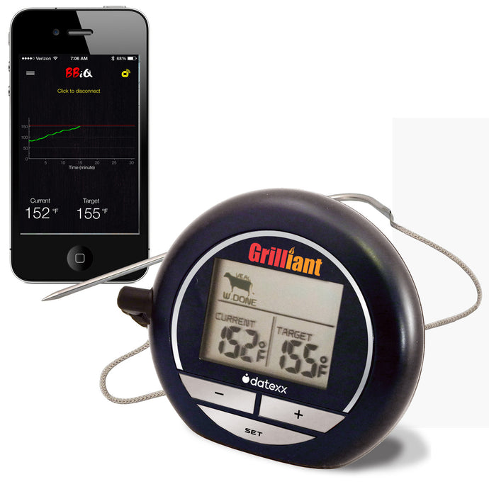 Bluetooth Grilliant Smart Cooking Thermometer