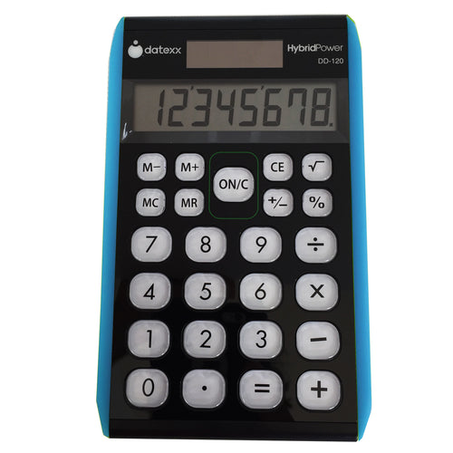 Hybrid 8 digit Desktop Calculator
