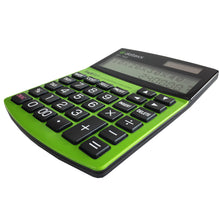 2-Line TrackBack Business Slim Desktop Calculator