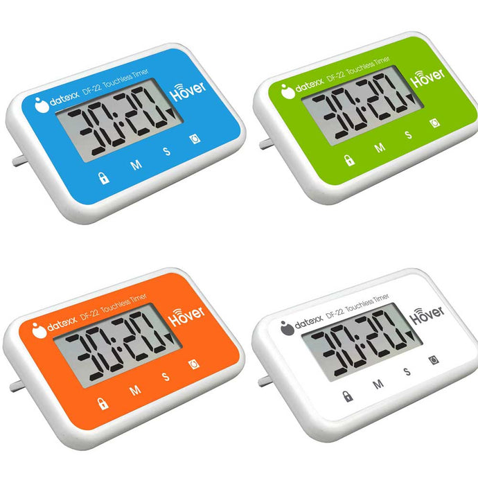 Hover Touchless Timer 4 Pack - All Colors