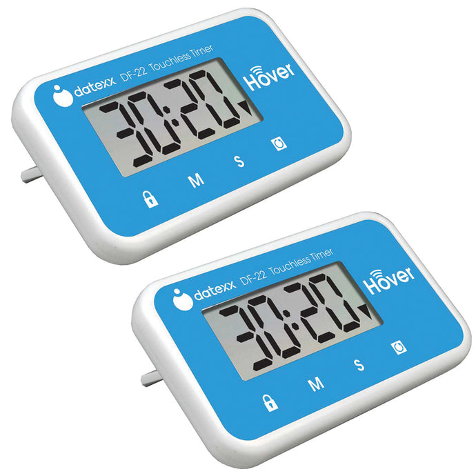 Hover Touchless Timer 2 Pack - Blue