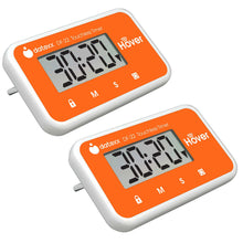 Hover Touchless Timer 2 Pack - Orange