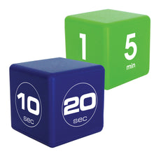 Fitness TimeCube® Combo Pack: 10-20-30-60 Seconds and 1-5-10-15 Minutes