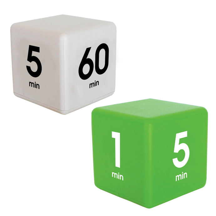 Learning TimeCube® Combo Pack: 5-15-30-60 Minutes and 1-5-10-15 Minutes