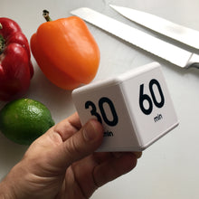Cooking Smartly with the TimeCube®: 5-15-30-60 Minutes and 1-3-5-7 Minutes