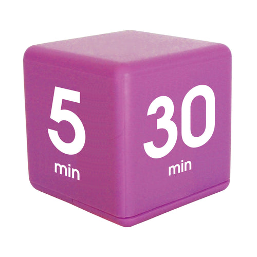Time Cube  5-10-20-30 Minute Preset Timer- Purple