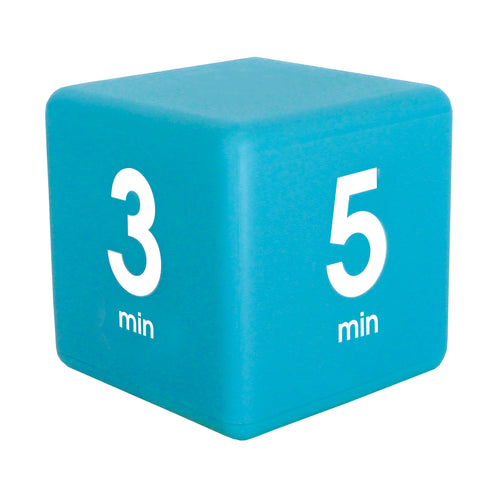 TimeCube® 1-3-5-7 Minute Preset Timer- Blue