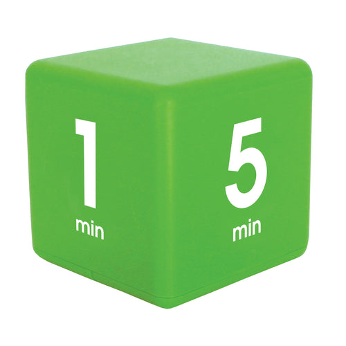 TimeCube® 1-5-10-15 Minute Preset Timer- Green