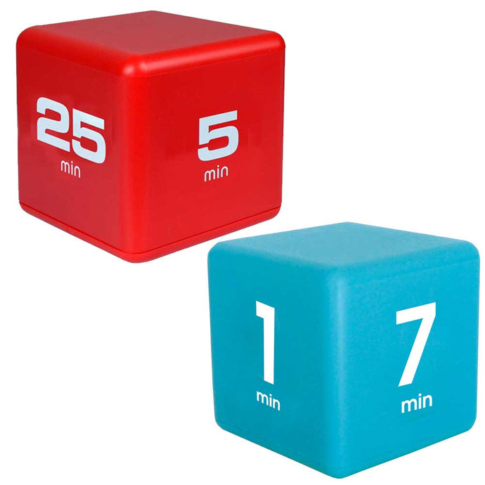 Productivity Time Cube Combo: 5-10-20-25 Minutes and 1-3-5-7 Minutes
