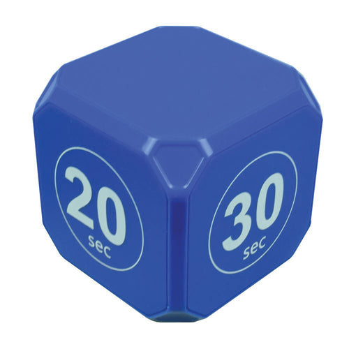 TimeCube® Plus 10-20-30-60 Second Preset Timer- Blue
