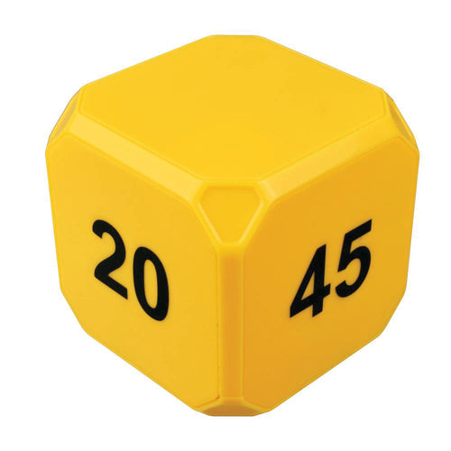 TimeCube® Plus 5-10-20-45 Minute Preset Timer- Yellow
