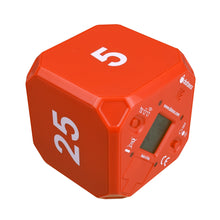 TimeCube® Plus: 5-10-20-25 Minute Preset Timer - Red