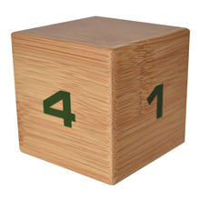 Bamboo TimeCube® 1-2-3-4 Minute Preset Timer